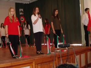 Tanulóink és pedagógusaink színvonalas községi rendezvényeken lépnek fel
