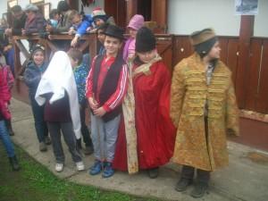 Tanulóink a Tájházzal közösen szervezett Márton napi forgatagban